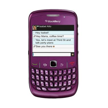 Blackberry Curve 8530 CDMA Purple Smartphone