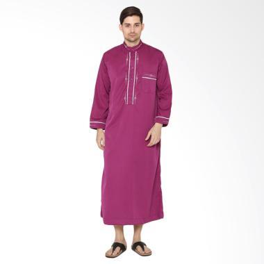 Jual Arafah Jubah Gibara Purple Di Busana Arafah Lazada