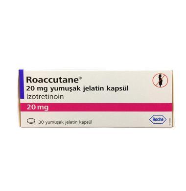 Jual Roaccutane Pil Obat Jerawat [20 mg] Online - Harga