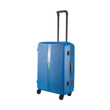 9 Lojel Octa 02 Koper Hardcase Large 30 Inch Denim Blue