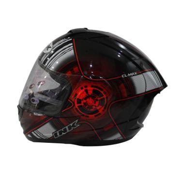 Jual INK CL Max 4 BK Red Fluo Helm Full Face Online
