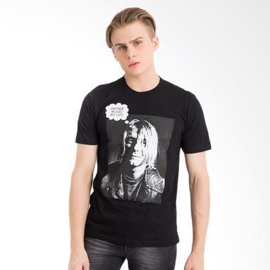 Jual one hours kurt cobain t shirt pria online harga for 1 hour t shirts