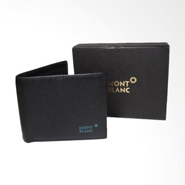 Jual MONT BLANC Leather Dompet Pria