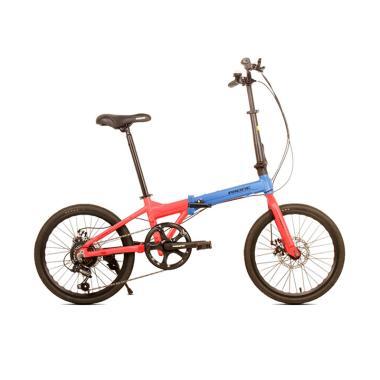 Jual PACIFIC BIKE Noris 2.0 Sepeda Lipat Green Tosca Murah