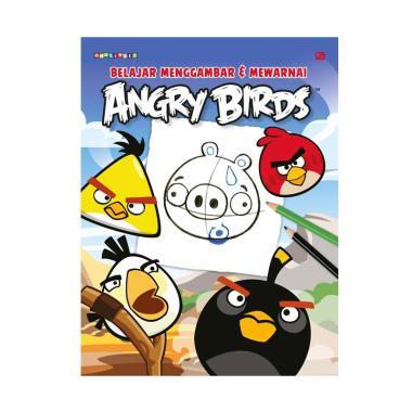 Jual Gramedia Pustaka Utama Angry Birds Coloring Book Buku Gambar Amp Mewarnai Online
