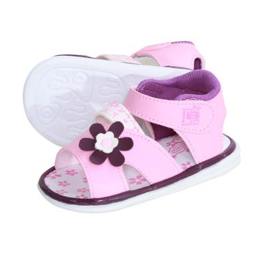 Jual Lusty Bunny Big Flower Baby Shoes Sepatu Sandal Bunyi
