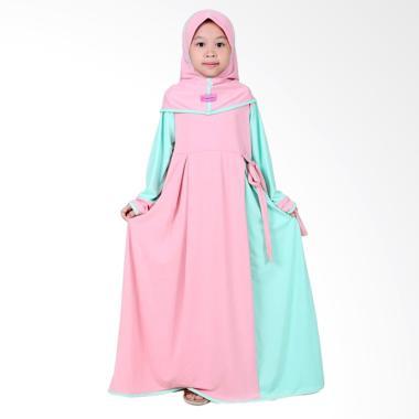 Jual Bajuyuli Jersey Gamis Baju Muslim Anak Perempuan