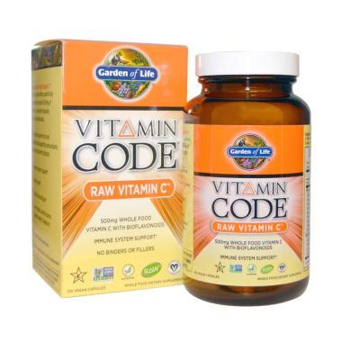 Jual Garden Of Life Vitamin Code Raw Vitamin C Suplemen 120 Vegan Capsules Online Harga