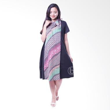 Jual Mama Hamil Btk 144 A2 Batik Dress Hamil Menyusui