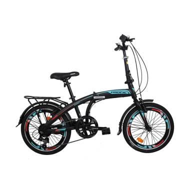 Jual WIMCYCLE Air Flex X2 Sepeda MTB Grey [24 Inch