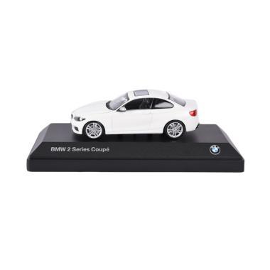 Jual bmw 2 series coupe miniatur mobil white online harga kualitas terjamin - Bmw 2 series coupe white ...