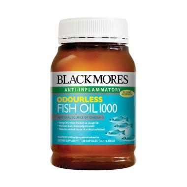 Jual best deal 11 blackmores odourless fish oil 1000 for Recommended fish oil