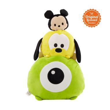 Jual Disney Tsum Tsum Chus Mickey Pluto Mike Bantal Online