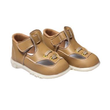 Jual Happy Baby Shoes Tali Bunyi Sepatu Bayi - Coklat Online - Harga & Kualitas