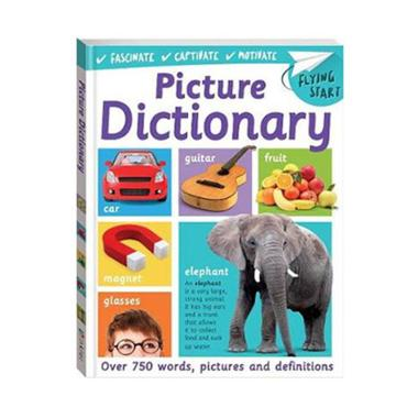 Jual hellopandabooks flying start picture dictionary buku for Start dictionary