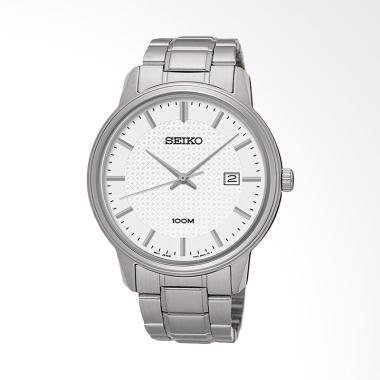 Jual Seiko Quartz SUR191P1 Stainless Steel Bracelet Jam
