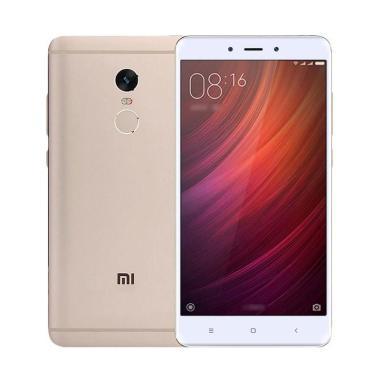 jual xiaomi redmi note 4 smartphone   gold 32 gb 3 gb