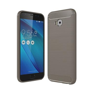 Jual Viseaon Carbon Brushed TPU Rubber Softcase Casing For