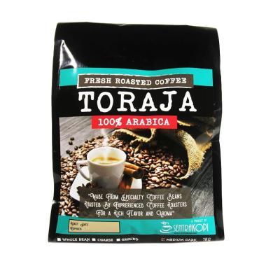 Jual Sentra Kopi Toraja Arabica Whole Bean Coffee Biji Kopi Arabika [1 Kg] Online