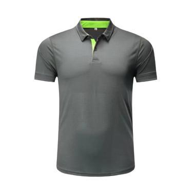 Jual Ping Tai Fu Shi Import Polo Shirt Pria - Abu Abu [P031#/ Original] Online - Harga