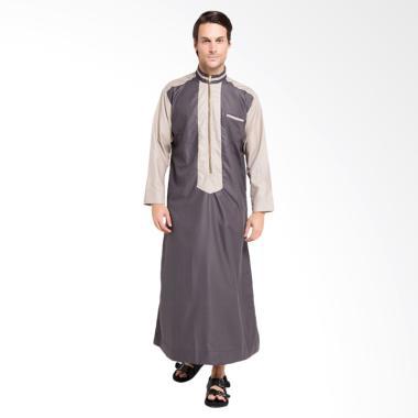 Jual Allev Izzat Thobe Baju Muslim Pria Abu Mocca Online