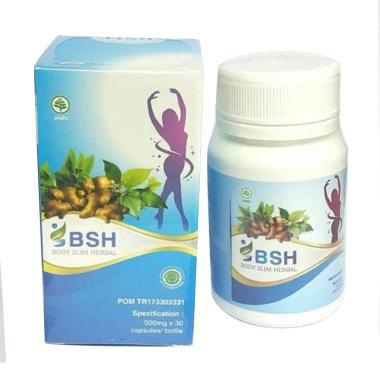 Jual BSH Body Slim Herbal Obat Pelangsing Alami [30 ...