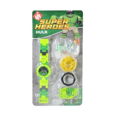 Jual OEM Lego Paket Hulk Digital Jam Tangan Anak Anak Laki
