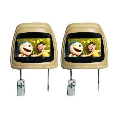 AVT HM-7088 Headrest Light Beige TV Mobil