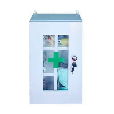 4Life First Aid Kotak Kayu P3K Peralatan Medis