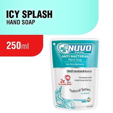 harga Nuvo Icy Splash Pouch Hand Soap - Tosca [250 mL] Blibli.com