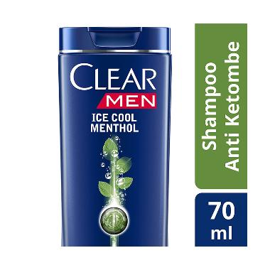 Clear Shampoo Anti Ketombe Ice Cool Menthol 70ml