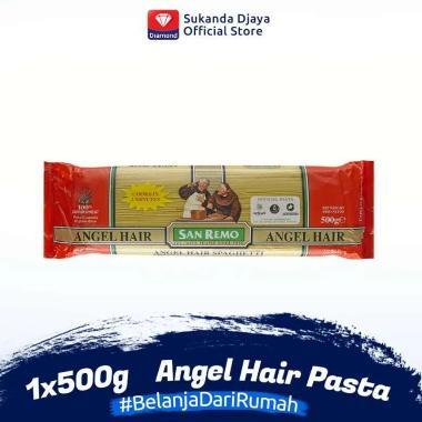 harga San Remo Pasta Angel Hair #9 [500 g] 143860 Blibli.com