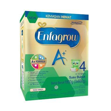 Enfagrow A+4 Vanilla Susu Formula [1800 g]