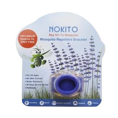 Nokito Mosquito Repellent Bracelet Blue