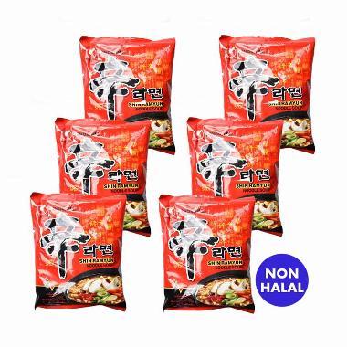 Nongshim Shin Ramyun Spicy Mushroom [120 g/6 pcs]