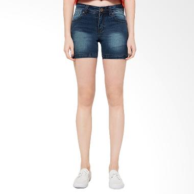2nd RED 263210 Fungky Jeans Hotpants - Dark Blue