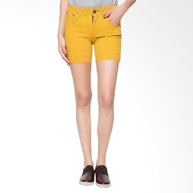 2ndRED 263322A Jeans Hotpants - Yellow