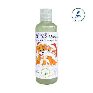 D&C Grosir Shampo Kesehatan Anjing & Kucing [250 mL/6 pcs]