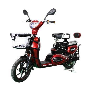 harga SELIS Type Murai Sepeda Listrik - Red Blibli.com