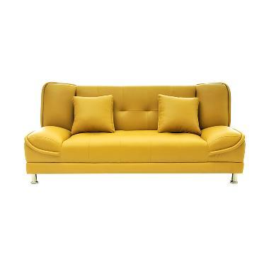 Olc Nokia Sofa Bed - Kuning [Jabodetabek]