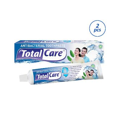 Total Care Antibacterial Gel Toothpaste [95 g/ 2 Pcs]