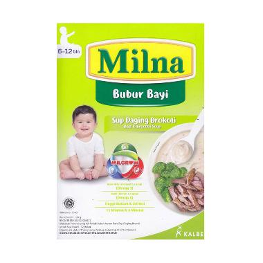 harga Milna Bubur Bayi Sup Daging Brokoli 6m+ Blibli.com