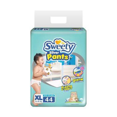 harga Sweety Silver Pants Popok Bayi XL 44 [XL44] Blibli.com