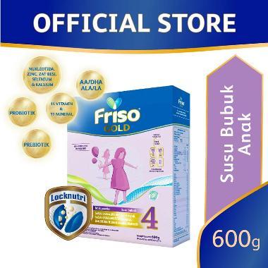 Friso 4 Gold Susu Formula [600 g]