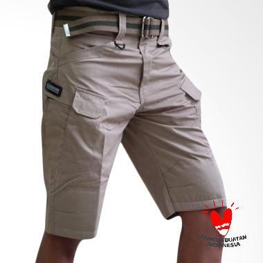 GDB Tactical Black Hawk Short Pants - Cream