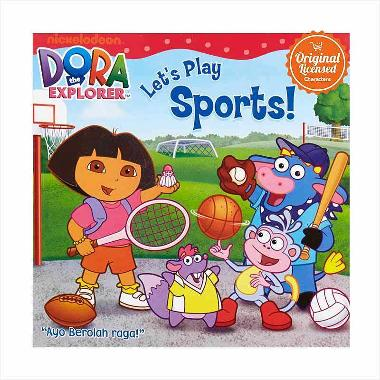 Dora the Explorer Let's Play Sports Komik Book