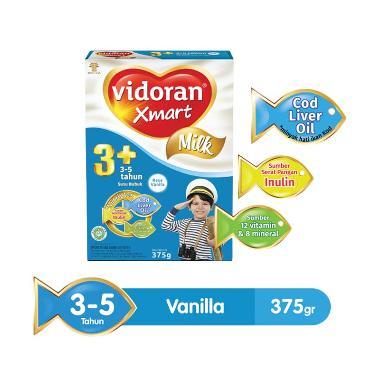 Vidoran Susu Formula Xmart 3+ Nutriplex Vanilla [375 g]