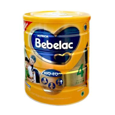 Bebelac 4 Vanilla Susu Formula - [12 kaleng /@800 g]