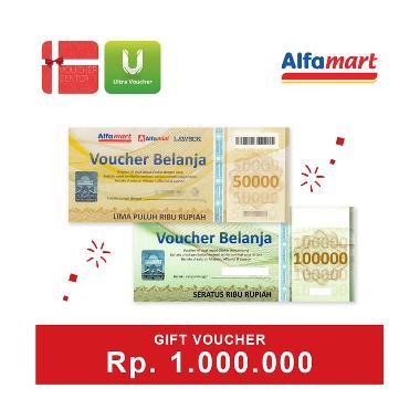 Voucher Center Alfamart Voucher Fisik [Rp.1.000.000]