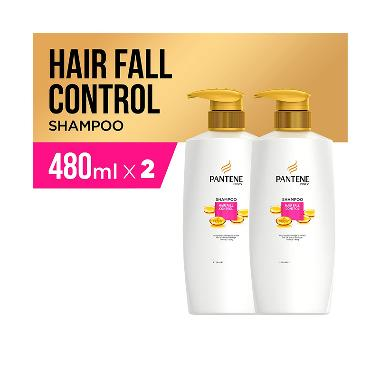 Pantene Hair Fall Control Shampoo [480 mL/2 pcs]